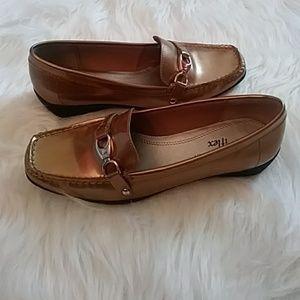 Anne Klein iflex Gold Loafers